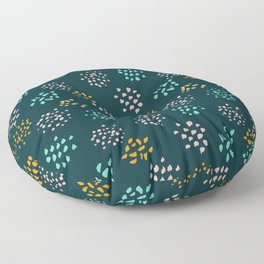 Confetti pattern Floor Pillow
