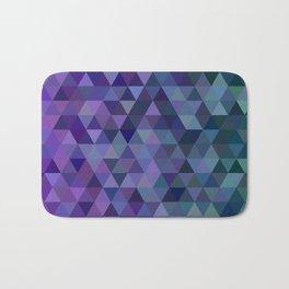 Triangle tiles Bath Mat