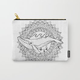 Save the Whales Carry-All Pouch