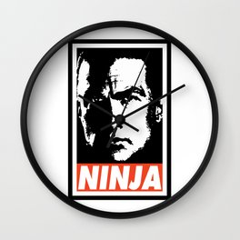 Steven Seagal - Ninja Wall Clock