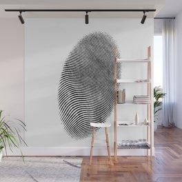 Finger print design Wall Mural