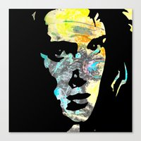 heathers Canvas Prints featuring Graffiti Ryder by Terrestre