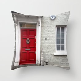 9 Bywater Street Chelsea George Smiley's London Flat Throw Pillow