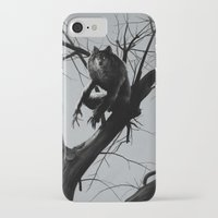 werewolf iPhone & iPod Cases featuring Werewolf by Alex Perkins