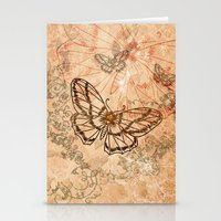 butterflies Stationery Cards featuring Butterflies by nicky2342