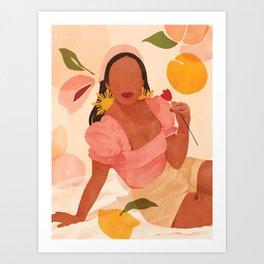 Filipina Girl Art Print