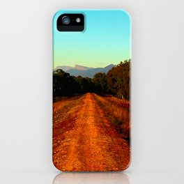 Reflections of a morning Sunrise iPhone Case