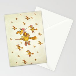 Witch's Festival Stationery Cards