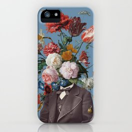 This one goes out to the one I love (4) blue iPhone Case
