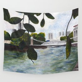 Acrylic Landscape Wall Tapestry