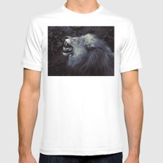 The King's Voice MEDIUM White Mens Fitted Tee