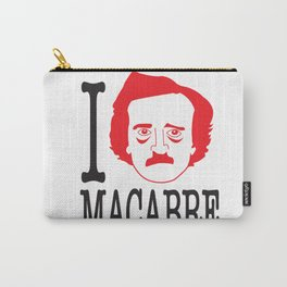I __ Macabre Carry-All Pouch