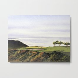 Torrey Pines South Golf Course Hole 3 Metal Print