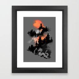 A samurai's life Framed Art Print