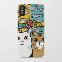 nori iPhone & iPod Cases featuring Nori&Tama by sol_pro