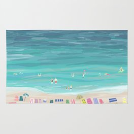 Day at the Beach Rug