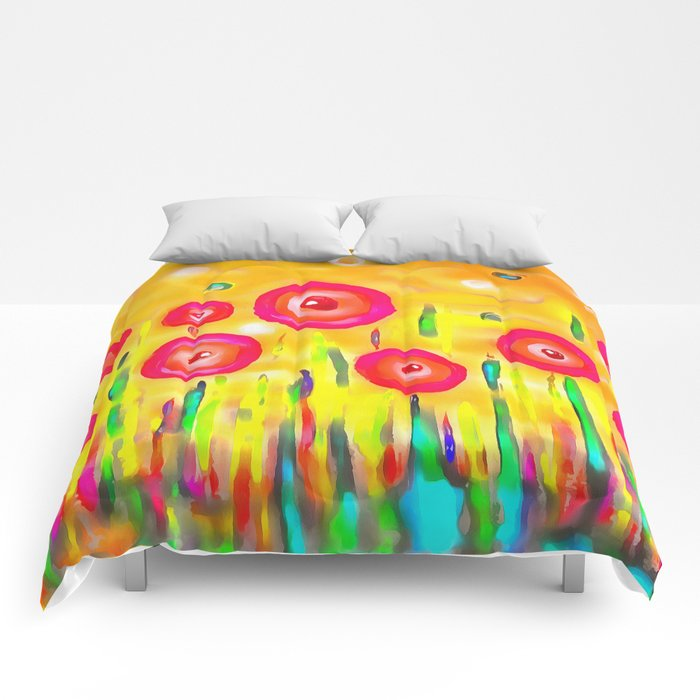 Beyond The Garden Comforters By Loop12 Society6