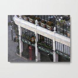 Pointillist Metal Print