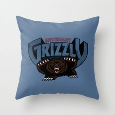 Revenant Grizzly Throw Pillow