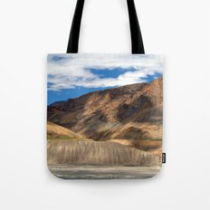 Scenery in Spiti Valley Tote Bag