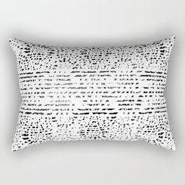 Lace Stamp Rectangular Pillow