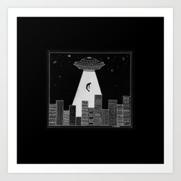 Alien Boy Art Print