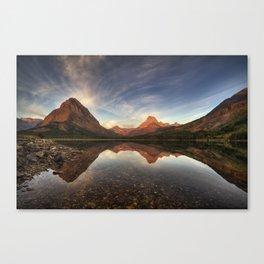 Many Glacier Zen Canvas Print