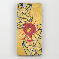 spider iPhone & iPod Skins featuring SPIDER by Armin Barducci