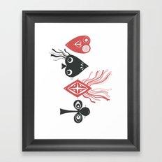The Gambling Pool Framed Art Print