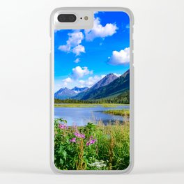 God's_Country - IV, Alaska Clear iPhone Case