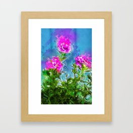 Florish Framed Art Print