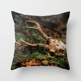 HUNTING SEASON IS OVER. Throw Pillow