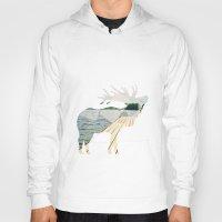 elk Hoodies featuring Elk. by Wooden Wolves