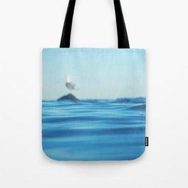 Seagull Adrift Tote Bag