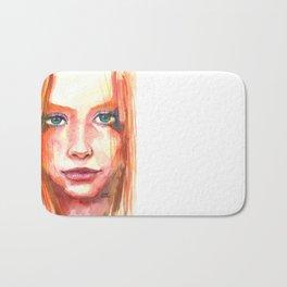 Portrait - RedHair & Freckles Bath Mat