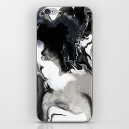 Abstract Acrylic Pour Paint iPhone Skin