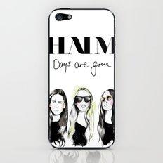 Haim Days are gone iPhone & iPod Skin