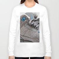 air jordan Long Sleeve T-shirts featuring Air Jordan Retro 3 GS by TJAguilar Photos