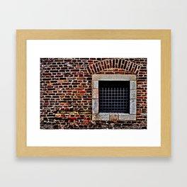 Torture Chamber Kalemegdan Fortress Framed Art Print