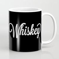 whiskey Mugs featuring Whiskey by KatieKatherine