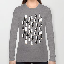 Penguins go with the floe Long Sleeve T-shirt