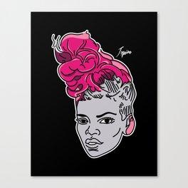 Rude Pink Canvas Print