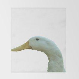 Just Ducky Vector Throw Blanket