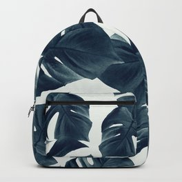 Monstera Leaves Pattern #1 #tropical #decor #art #society6 Backpack