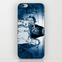 mia wallace iPhone & iPod Skins featuring Pulp Fiction - Mia Wallace by Rob O'Connor