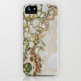 Autumn Lacing iPhone Case
