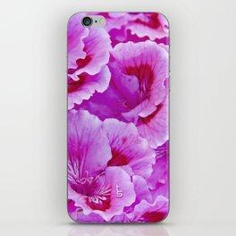 Pink Geranium I iPhone Skin