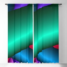 Three-dimensional simple beauty Blackout Curtain