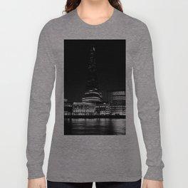 The shard in Monochrome Long Sleeve T-shirt