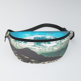 Mt Adams from Mt Rainier Washington State - Nature Photography Fanny Pack